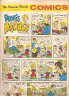 Dennis The Menace By Hank Ketcham The Overseas Jamilly Comics Vol 13 N°37 Du 7 August 1970 - Bücher, Zeitschriften, Comics