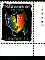 CANADA - 1999  LE TEATRE DU RIDEAU  MINT NH - 1952-.... Regno Di Elizabeth II
