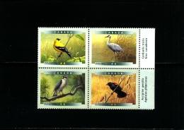 CANADA - 1999  BIRDS BLOCK  MINT NH - 1952-.... Regno Di Elizabeth II