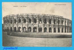NIMES (Gard) LES ARÈNES. - 1908 - - Nîmes