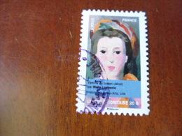 FRANCE TIMBRE OBLITERE  ROND  YVERT N° 677 - Adhésifs (autocollants)