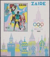 COB BL41  Olympic Games Moskou 1980  MNH - 1980-89: Ongebruikt