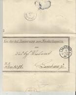 =DR LETTER 1889 - Cartas