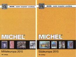 Mittel-/Süd-Europa Katalog 2015/2016 Neu 132€ MICHEL Band 1+3 A UN CH Genf Wien CZ CSR HU Italy Fiume Jugoslavia Vatikan - Alte Papiere