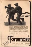 Original Werbung - 1939 - Forsanose , Volketswil / Zürich !!! - 1939-45