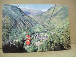 Vista Generale Con La Nuova Telecabinovia  (Andorra) - Andorra