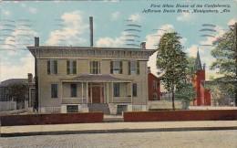 Alabama Montgomery Jefferson Davis Home First White House Of The