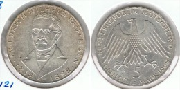 ALEMANIA 5 DEUTSCHE MARK J RAIFFESEN 1968 PLATA SILVER D2 - [ 6] 1949-1990 : RDA - Rep. Dem. Alemana