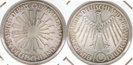 ALEMANIA 10 DEUTSCHE MARK D ESPIRAL 1972 PLATA SILVER D2 - [ 6] 1949-1990 : RDA - Rep. Dem. Alemana