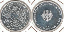 ALEMANIA 10 DEUTSCHE MARK F 1999 BUNDESREPUBLIK PLATA SILVER - [ 6] 1949-1990 : RDA - Rep. Dem. Alemana