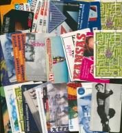 Telefonkarten, über 30 St Meist Telekom, Mit Vielen Verschiedenen (XXL9323) - Collections