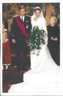 ! - Belgique - Mariage Du Prince Philippe Et De La Princesse Mathilde - Familles Royales