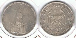ALEMANIA DEUTSCHES REICH 5 MARK 1934 D  PLATA SILBER. D35 - [ 4] 1933-1945 : Third Reich