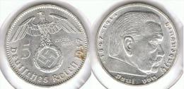 ALEMANIA DEUTSCHES REICH 5 MARK 1937 A  PLATA SILBER. D29 - [ 4] 1933-1945 : Third Reich