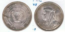 BARHAIN 500 FILS ISA TOWN 1968 PLATA SILVER - Bahrain