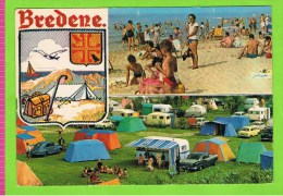 Bredene,met Oude Auto's En Caravans, 1966, Kamping Zee En Duinen! - Bredene