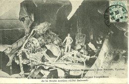 33  CPA Toulon  Catastrophe Maritime Explosion Du Iena - Toulon