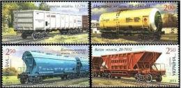 Ucraina 2013  Treni  MNh - Trains