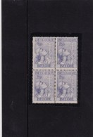 TUBECULOSEBESTRIJDING ANTI TUBERCULOZE NR 382 BLOK DE 4 ** - Blocs 1924-1960