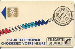 CARTE-PUBLIC-Ko58C-440-50U-SC4On-S/E-SERIGRAPHIE- -Puce 7-4 Impact-CORDON BLANC--Série-N°8391-TBE - France