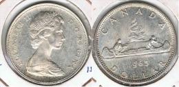 CANADA DOLLAR 1965 PLATA SILVER D4 - Canada