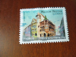 FRANCE TIMBRE OBLITERE  ROND  YVERT N° 724 - Adhésifs (autocollants)