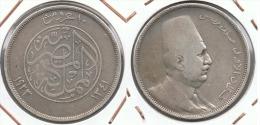 EGIPTO 20 PIASTRAS 1923 PLATA SILVER - Egipto
