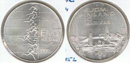 FINLANDIA 10 MARKKAA 1971 CORREDORES PLATA SILVER - Finlandia