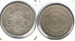 JAPON 100 YEN 1964 PLATA SILVER - Japón