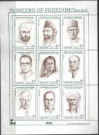 Pakistan 1991 Pioneers Of  Freedom, Maulana Zafar Ali Khan, Hameed Nizami Etc. - Pakistan