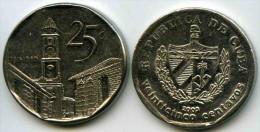 Cuba 25 Centavos 2003 KM 577.2 PAYPAL ATTENDRE / WAITING - Cuba
