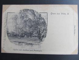 AK WIEN Praterspitz Ca.1900  // T4254 - Prater