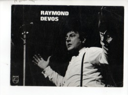RAYMOND DEVOS . DISQUES PHILIPS - Réf. N°10009 - - Persönlichkeiten