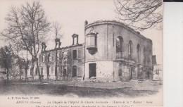 AMIENS La Chapelle De L'hopital St Charles Euvre De La Kultur  Boche  A P Vise Paris - Amiens