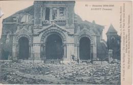 ALBERT Le Portail De La Basilique - Albert