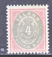 ICELAND  23  ** - 1873-1918 Dependencia Danesa