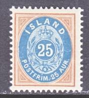 ICELAND  29  ** - 1873-1918 Danish Dependence