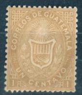 _Nm667: N°1:  Mint Hinged... - Guatemala