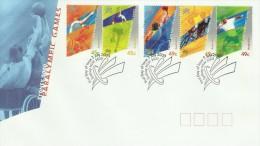 Australia 2000 Paralympic Games FDC - Ersttagsbelege (FDC)