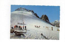 (74) AU PAYS DU MONT BLANC -Ski D'été Aux Grands Montets 1966 - Chamonix-Mont-Blanc