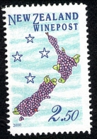 New Zealand Wine Post Land Of Grapes 2010. - New Zealand