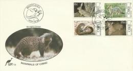 Ciskei 1982 Mammals FDC - Ciskei