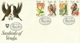 Venda 1981 Sunbirds FDC - Venda