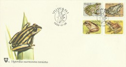 Venda 1982 Frogs FDC - Venda