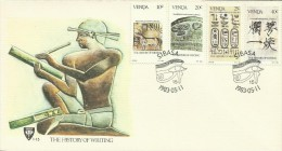 Venda 1983 The History Of Writing FDC - Venda