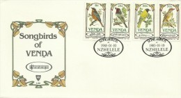 Venda 1985 Songbirds FDC - Venda