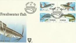 Venda 1987 Freshwater Fishes FDC - Venda