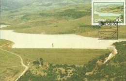 Ciskei 1989 Dams ,Cala,Maximum Card - Ciskei