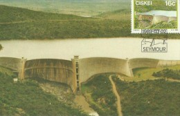 Ciskei 1989 Dams ,Kat,Maximum Card - Ciskei