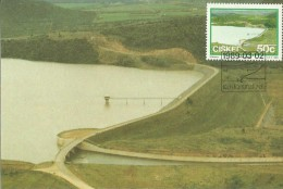 Ciskei 1989 Dams ,Sandle,Maximum Card - Ciskei